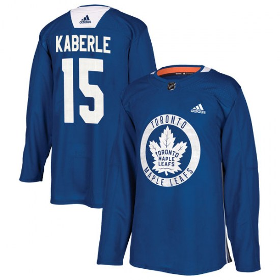 Tomas Kaberle Toronto Maple Leafs Authentic Practice Adidas Jersey - Royal