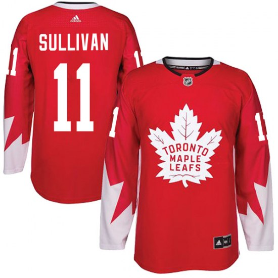 Steve Sullivan Toronto Maple Leafs Youth Authentic Alternate Adidas Jersey - Red